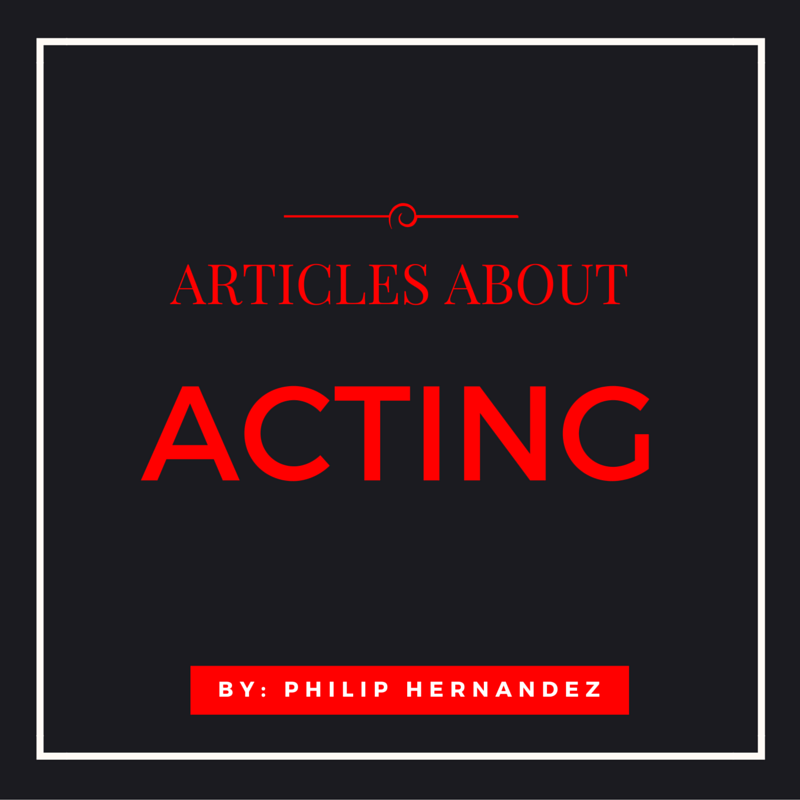 ARTICLES about acting