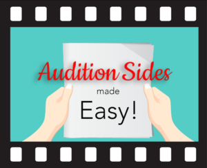 audition sides made easy